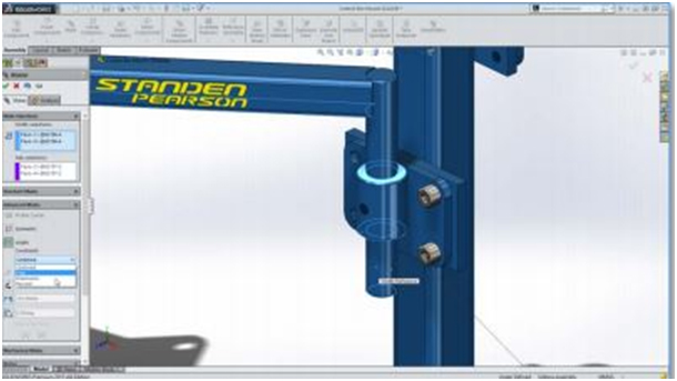 Assembly Modeling Additions in SOLIDWORKS