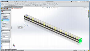 Duplicate with SOLIDWORKS Pattern Features