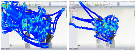 Mouse Heat Capture of Trail with Mouse Gesture in SOLIDWORKS