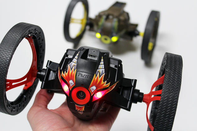 Analyzing a Parrot MiniDrone Jumping Sumo