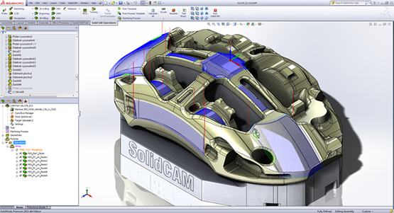 Integrate Your CAD and CAM with SolidCAM Xpress
