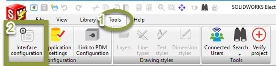 Customize Your Interface in SOLIDWORKS Electrical