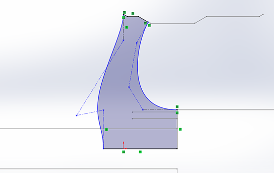 How to Reference a Cross-Section within SOLIDWORKS