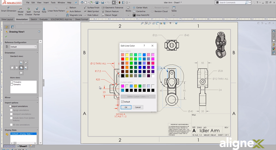 Customize Your Drawing with the Line Format Toolbar