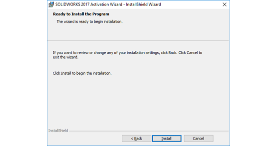 activation wizard solidworks