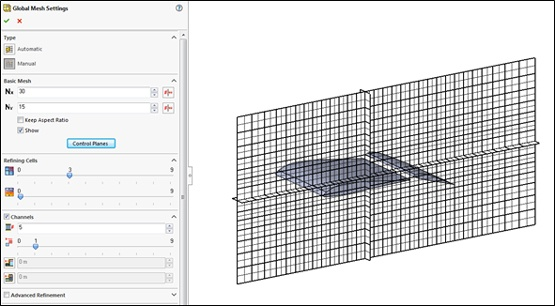 Meshing in SOLIDWORKS Flow Simulation 2016
