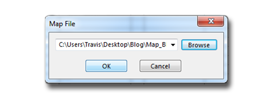 Save Map File in SOLIDWORKS