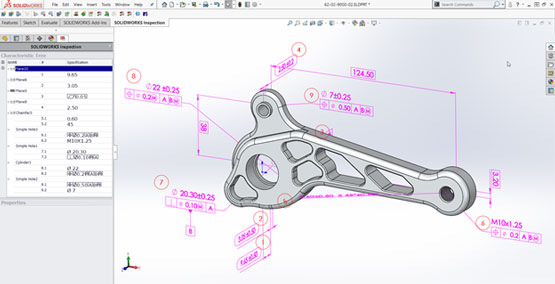 The 3 Best New Features Found in SOLIDWORKS Inspection 2018