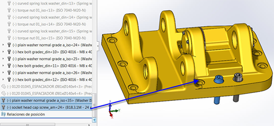 Copying Multiple Components in SOLIDWORKS 2016