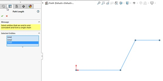 Path Length Dimension in SOLIDWORKS