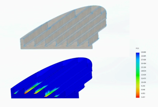 How to Minimize Weight with SOLIDWORKS Simulation Optimization Analysis