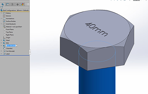 Getting Started with SOLIDWORKS Design Tables