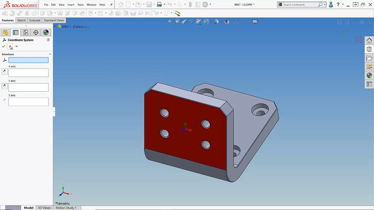 How to Move the Origin Within Your Part Model