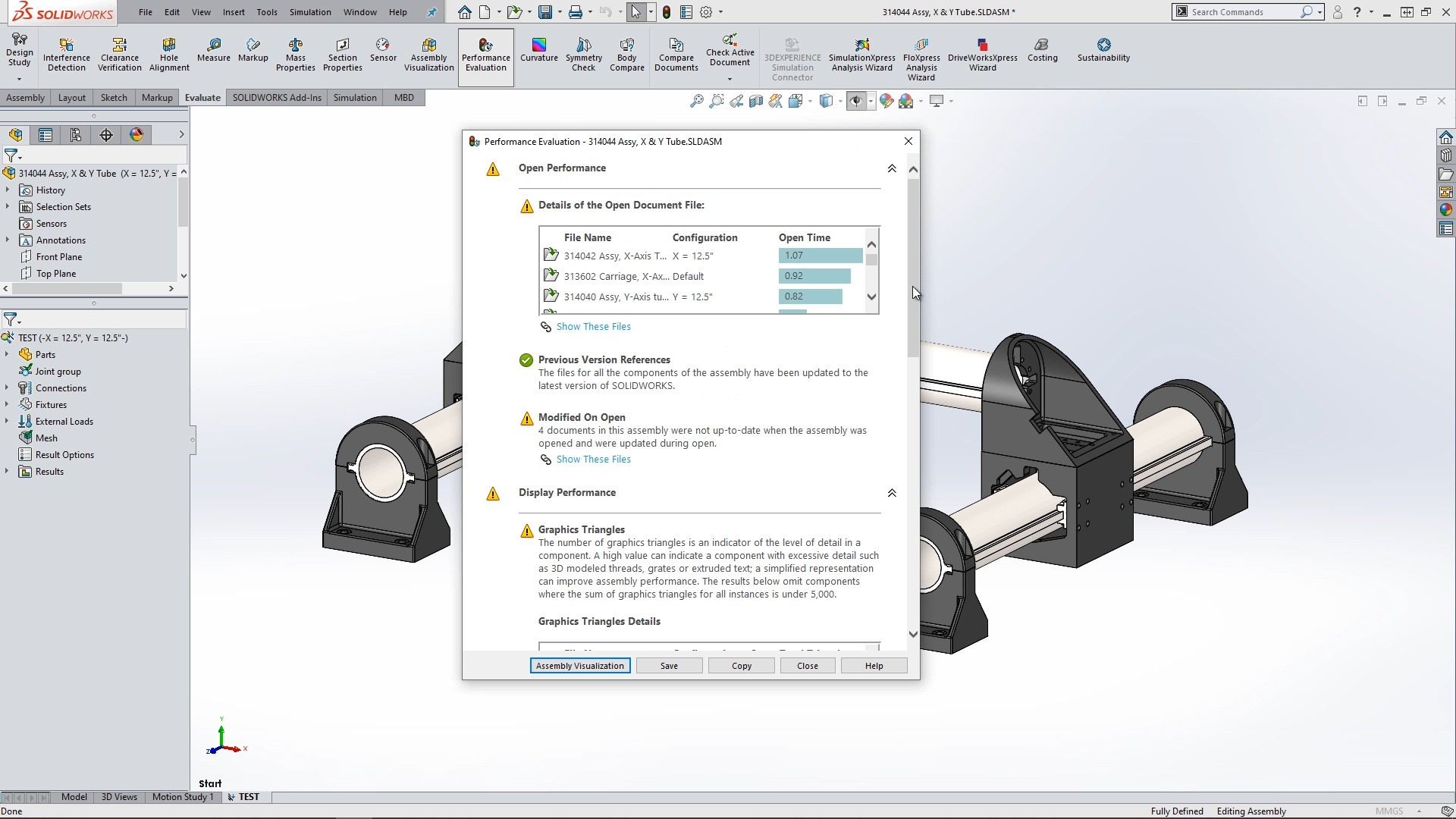 What's New in SOLIDWORKS 2020 - Simulation Evaluator
