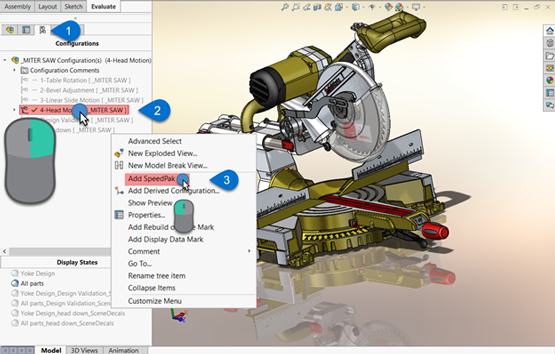 What is SOLIDWORKS SpeedPak?