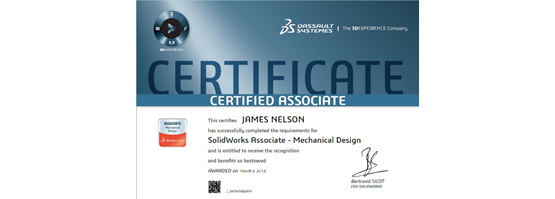 How Do I Become SOLIDWORKS Certified?