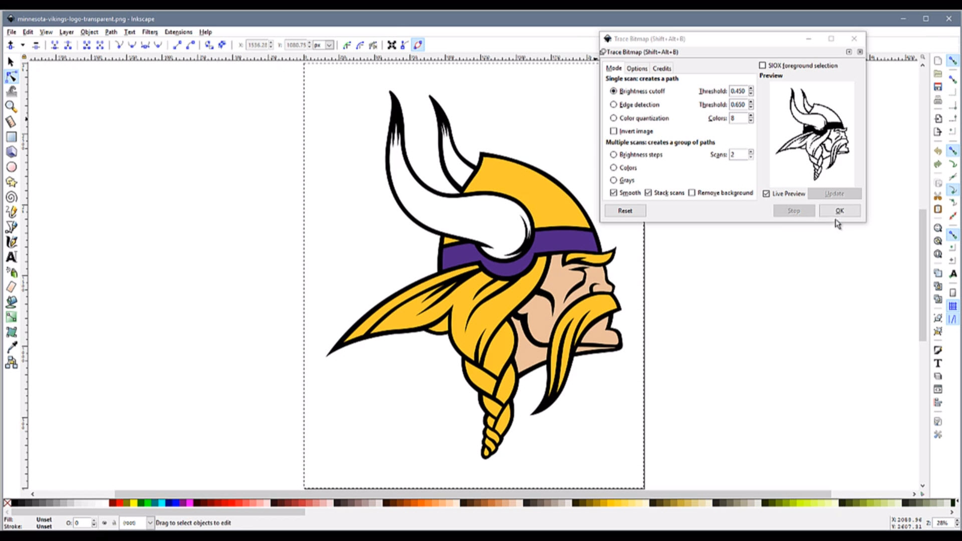 How to Convert an Image File to DXF