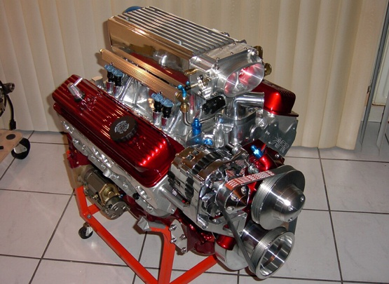 Manufactured Small Block Engine