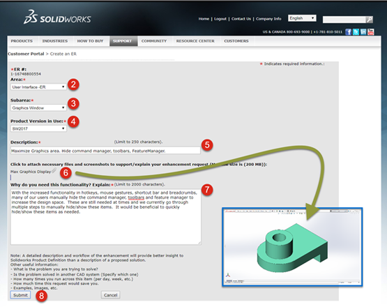 Turn Your SOLIDWORKS Hack Into a Key Feature with Enhancement Requests