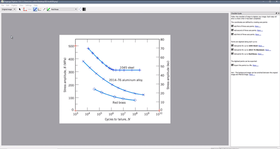 How to Extract Raw Curve Data from an Image File