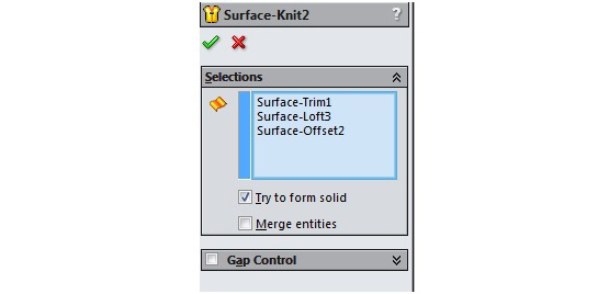 How to Create an Extrude-Cut on a Curved Surface