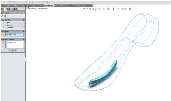 Extrude Cut on a Curved Surface in SOLIDWORKS