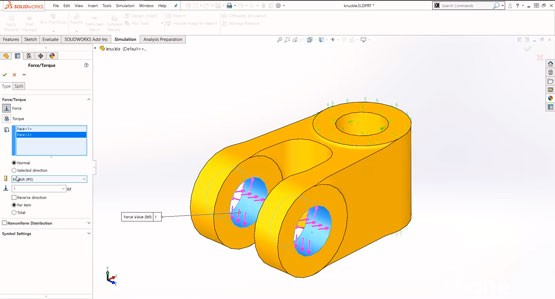 Introduction to SOLIDWORKS Simulation - Fixtures and Loads