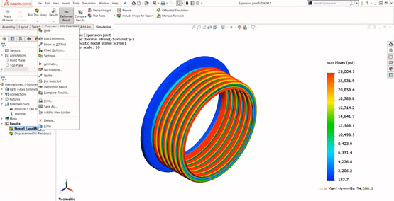 Getting Started with SOLIDWORKS Simulation - Fixtures and Loads