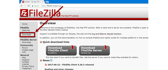 Alignex Guide to Using FileZilla