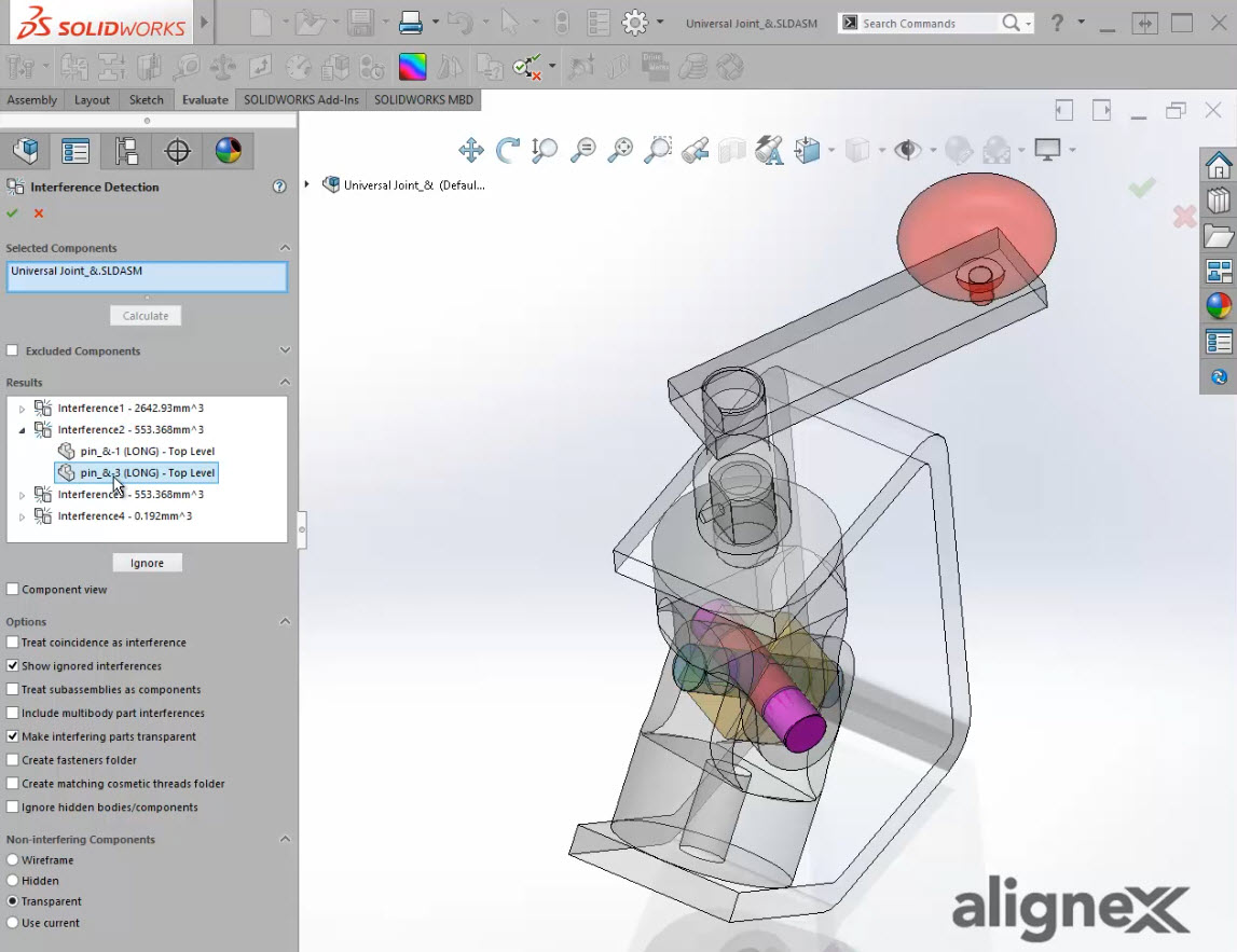 The Interference Detection Tool in SOLIDWORKS [VIDEO]