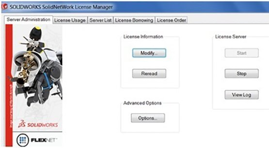 Reserving Licenses with SolidNetWork License Manager