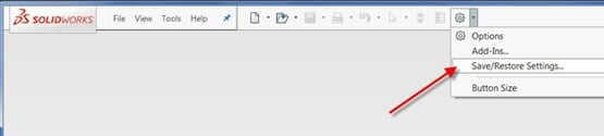 Save-Restore-Settings-SolidWorks