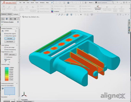 How to Use the Thickness Analysis Tool in SOLIDWORKS [VIDEO]