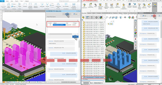 5 Awesome Collaboration Improvements Found in SOLIDWORKS PCB 2018