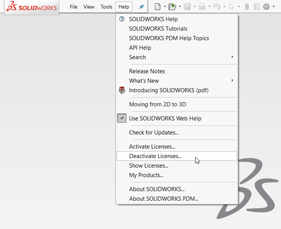 How to Change a SOLIDWORKS Stand-Alone Serial Number