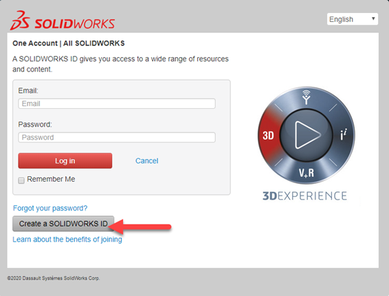 How to Create Your SOLIDWORKS ID: Part 1