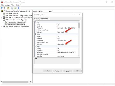 How to Setup Your SQL Port Settings