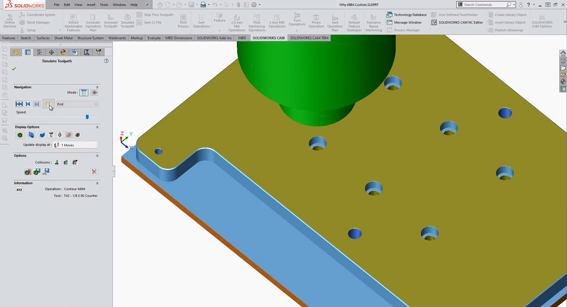 How to Use Rules Based Machining in SOLIDWORKS CAM