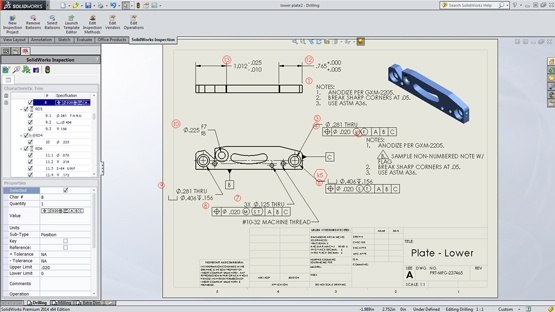 Automate Your Documentation Process with SOLIDWORKS Inspection