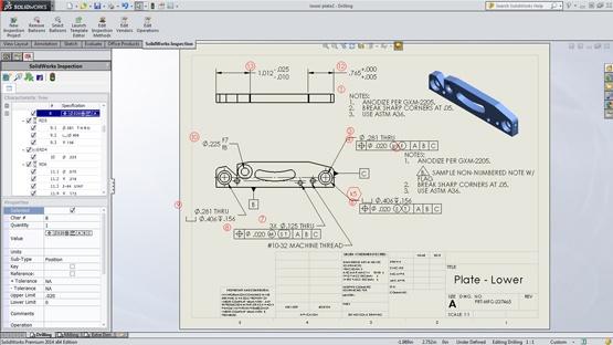 SolidWorks Inspection Documentation